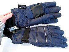NWT HOT STEPS POLAR HEAT INSULATED Blue SKI GLOVES~SZ M~FREE SHIPPING!!
