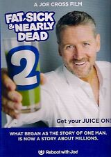 Fat, Sick and Nearly Dead 2 Starring Joe Cross (DVD 2015) Brand New!