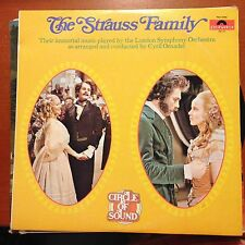 The Strauss Family-Circle Of Sound-2 LP-Polydor-PD2 3506-Vinyl Record