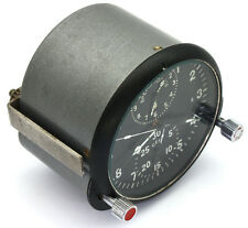 "Soviet 80's-made AirForce Cockpit Clock ACS-1M ""K"" / AChS-1M ""K"" for Su/MiG jets"