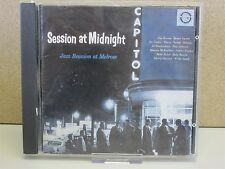 SWEETS EDISON/BENNY CARTER/PLAS JOHNSON ETC- Session at Midnight/Riverside CD