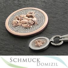 Quoins - Scheibe / Münze mit Zirkonias - QMOA-28L-RG - Buddha