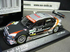 Audi a4 DTM 2007 #8 accionesde coches usados + equipo Abt Sports Minichamps 1:43