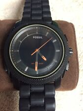 Fossil Men's rubber band watch