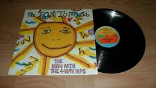 "THE TOM TOM CLUB - MAN WITH THE 4 WAY HIPS (RARE 12"" VINYL SINGLE) TALKING HEADS"