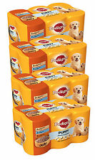 Pedigree Dog Food Tins 6pack 400g Puppy In Jelly (Bulk Buy Of 4, Total 24 Cans)