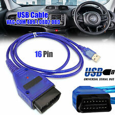 USB VAG-COM Cable 409.1 ODB II ODB2 Auto Diagnostic VW/Audi/Skoda Tool UK