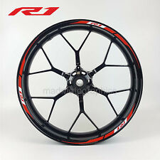 R1 2015 style motorcycle wheel decals rim stickers stripes yamaha yzf-r1 YZF