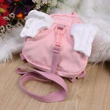 Fashion Cute Toddler Safety Harness Kid Baby Angel Backpack Reins Harnesses Pink