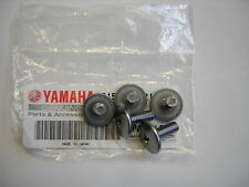 Yamaha TZ250 91-99 Set Fairing Screws (5) Genuine Yamaha. New