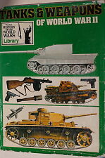 WW2 Phoebus History of World Wars Tanks & Weapons of World War II Reference Book
