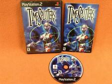 TimeSplitters Time Splitters Playstation 2 PS2 Game Fast FREE SHIP Complete!