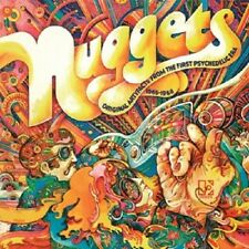 NUGGETS-ORIGINAL ARTYFACTS FROM THE FIRST PSYCHEDE 2 VINYL LP ROCK NEW+
