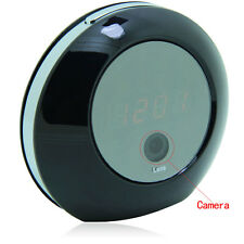Wireless HD 1080P Alarm Clock Hidden WIFI IP P2P Motion Cam Camera for PC Iphone