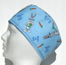 Whats Up Doc Mens Scrub Hat, Velcro Close, Skull Cap, Surgical Cap