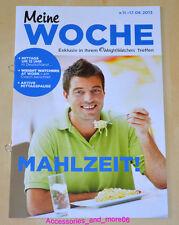 Weight Watchers Meine Woche 11.8 - 17.8 ProPoints™ Plan 360 Wochenbroschüre 2013