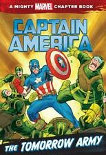Captain America: The Tomorrow Army: A Marvel Chapter Book-ExLibrary