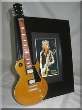 RANDY RHOADS  Miniature Guitar Frame Ozzy LP
