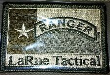 Larue Tactical Morale Patch - US Army Ranger Patch  - Brand New