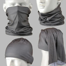 Concrete Grey Multi-function Tubu Scarf Bandana Cycling Bicycle Face Mask AA098
