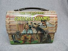 1977 GRIZZLY ADAMS Tv DOME LUNCHBOX Pet Bear,Skunk,Fox.Owl,Deer  Condition#8+