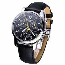 TISSOT PRC 200 T17.1.526.52 LEATHER CHRONOGRAPH MENS WATCH  RRP £310