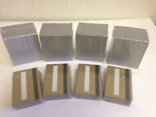 1000 Gold CR80 PVC Cards HiCo MagStripe 2 Track w/ Signature Panel - ID Printers
