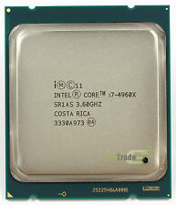 Intel Core i7-4960x SR1AS 3.6GHz 6Core 15MB 130W 12Thread LGA2011 Processor CPU
