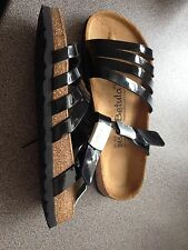 Birkenstock Betula Sandal - Black (Size 38)  5 (New With Tags)