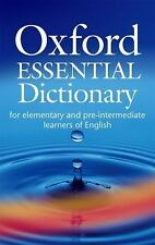Oxford Essential Dictionary: Oxford Essential Dictionary with CD-ROM-ExLibrary