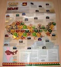 Siedler von Catan Indien - Rickshaw Run - Szenario Spielplan Plan Landkarte Neu