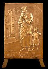 Médaille au chirurgien Felizet Hopital Bretonneau Chirurgie infantine 1905 Medal