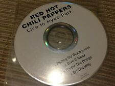 RED HOT CHILI PEPPERS SPANISH CD SINGLE SPAIN LIVE HYDE PARK ROLLING SLY STONE