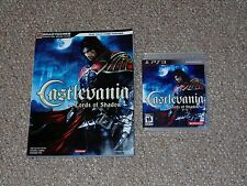 Castlevania: Lords of Shadow PS3 Complete with Brady Strategy Guide
