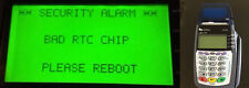FIX verifone bad rtc chip TAMPER password reset vx 570 510 510le 610 warranty