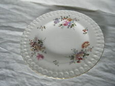 C4 Porcelana Royal Crown Derby Posies No.839892 placa Medio en Relieve 22cm 1A2E