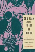 Don Juan and the Point of Honor: Seduction, Patriarchal Society, and Literary Tr