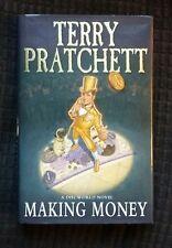 Making Money by Terry Pratchett (Hardback, 2007) 1st Ed HB, VGC+