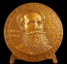 Médaille Édouard Delamare-Deboutteville sc J Hardy automobile car history medal