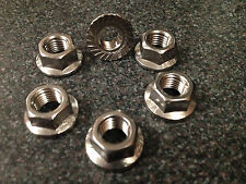 TRIUMPH TIGER SPORT 1050 SPROCKET NUTS STAINLESS STEEL 2013 onwards