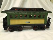Jim Beam Passenger Car Train Decanter Central Railroad of NJ