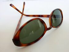 Jones New York Orange Brown SUNGLASSES Acrylic Ladies Tinted Glasses