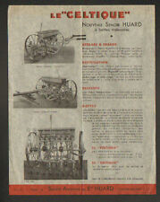 "CHATEAUBRIANT (44) USINE de MACHINES AGRICOLES / SEMOIR Le Celtique ""HUARD"""