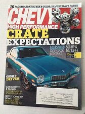 Chevy High Performance Magazine Crate Expectations LS3 December 2011 031317NONRH