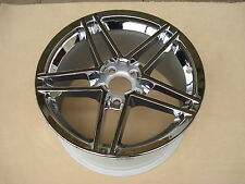 Chrome Jante Alufelge 9,5x18 article neuf c5 CORVETTE c6 z06 original GM 9594354