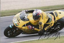 Luis Diez Firmado Paginas Amarillas HP 40 Kalex 12x8 Foto 2014 Moto 2 4.