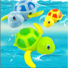 Colorful New Born Babies Swim Turtle wound-up Chain Baby Children Bath Toy