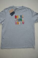 Paul Smith PS T Shirt CYCLING CAPS XXLarge NEW