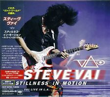 STEVE VAI STILLNESS IN MOTION 2015 1ST PRESS 2CD BLU-SPEC CD2 HIGH FIDELITY