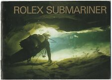 Rolex SUBMARINER LIBRETTO BROCHURE 2000 16610 14060 16613 16618 16600 OEM